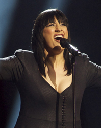 MACEDONIA: Kaliopi sings Dona Image copyright © David Ransted