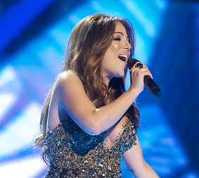 MALTA: Ira Losco sings Walk On Water Image copyright © David Ransted