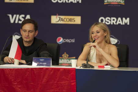 Poland at the winners press conference