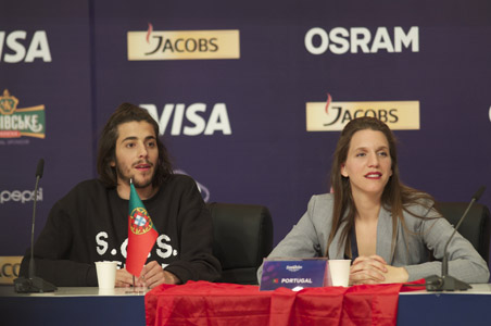 Portugal at the winners press conference