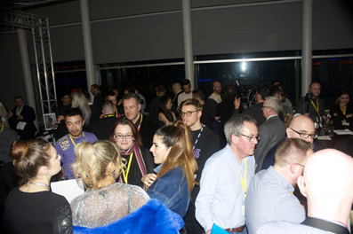It was a packed out event at the BBC!